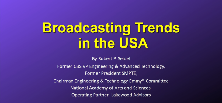 2020 Broadcasting Trends in the USA