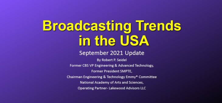 Broadcasting Trends in the USA – September 2021